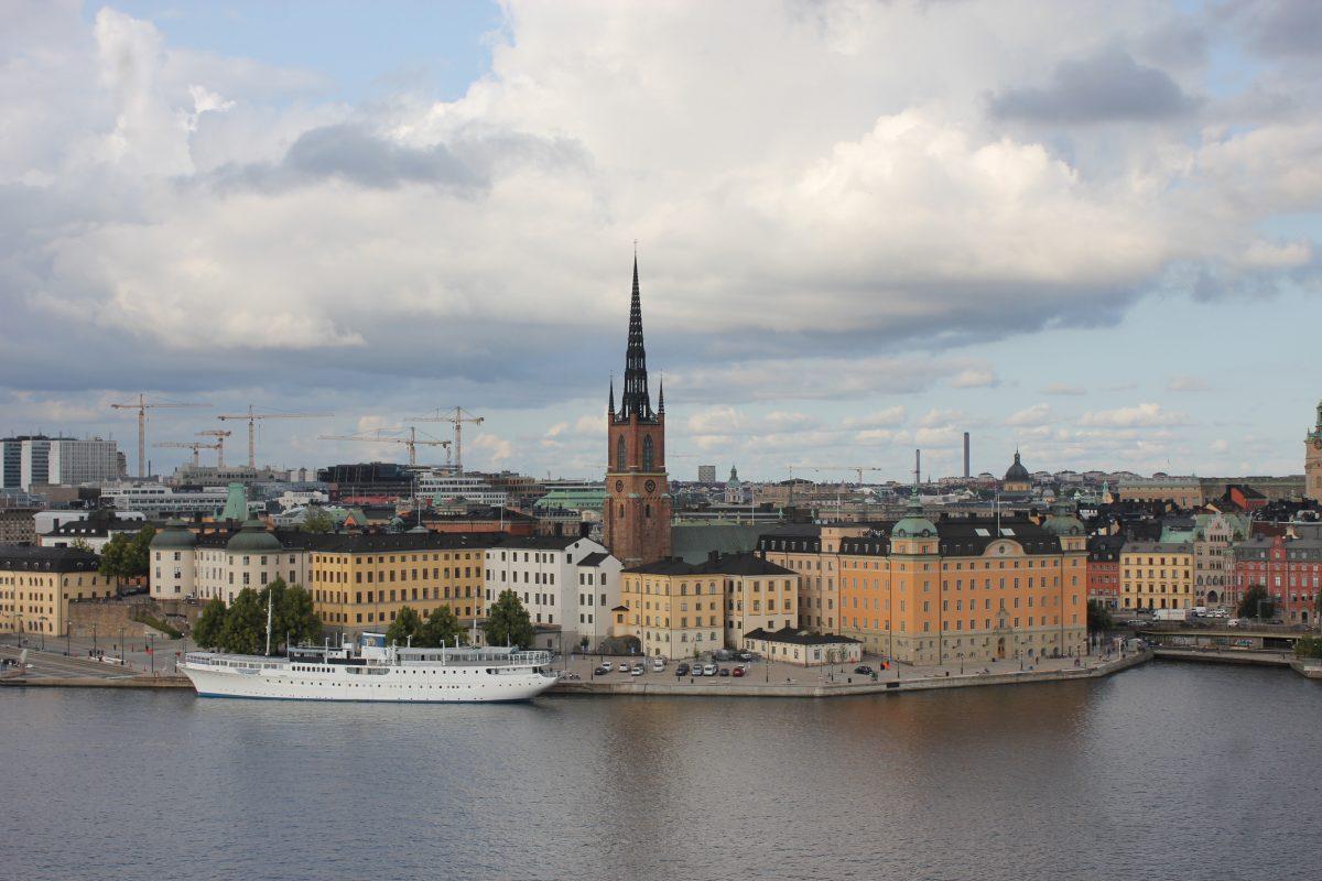 Bye bye dear old Stockholm